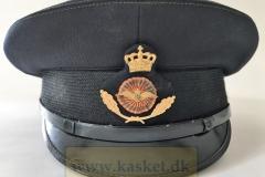 Flyvevåbnet Kasernemester, (Stationsmester) Civil ansat med Uniform.