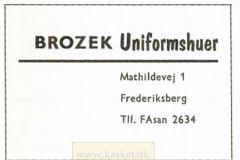 BROZEK uniformshuer