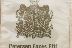 Petersen Faxes Eftf.