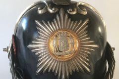 Hæren. Dragonhjelm for Officerer