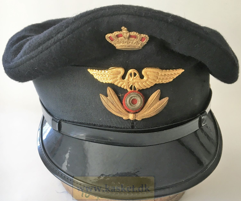 DSB UniformsKasket Model 1954-1973 til Banenæstformand