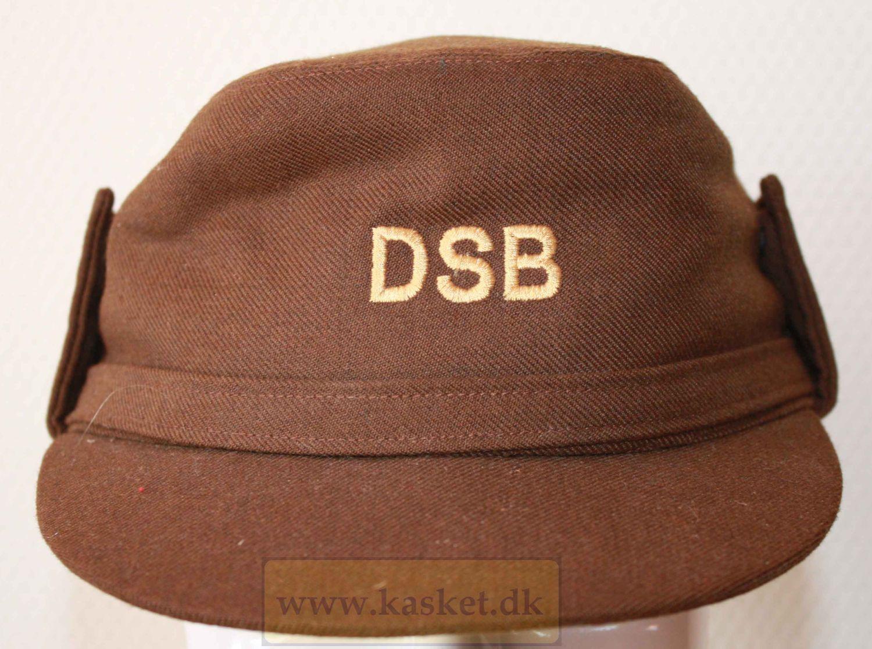 Togpersonel 1973-1983. brun stof