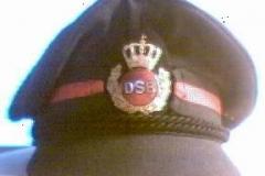 DSB - togfører. ca. 1985 (1985-2000)