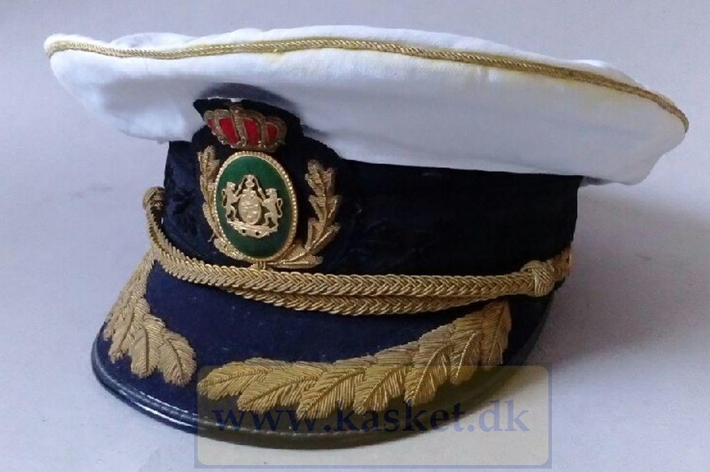 Politi inspektør med huebetræk