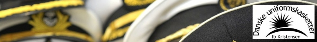 Danske uniformskasketter